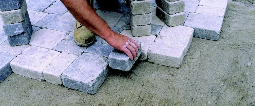 Installing Pavers on Concrete