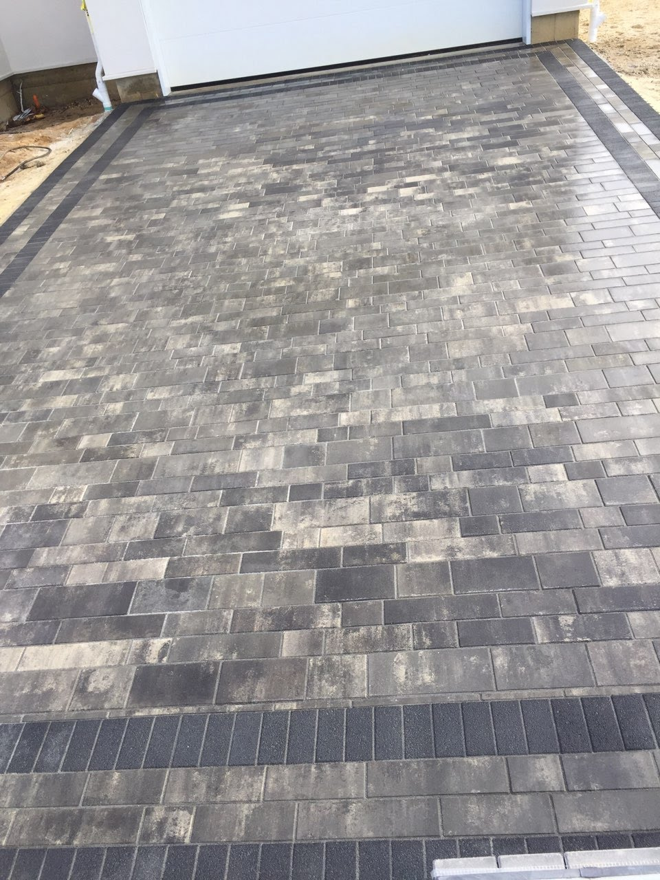 Calgo Gardens Landscaping & Nursery Constructs Highly Refined Driveway Project with Artline Pavers in Lakewood, NJ