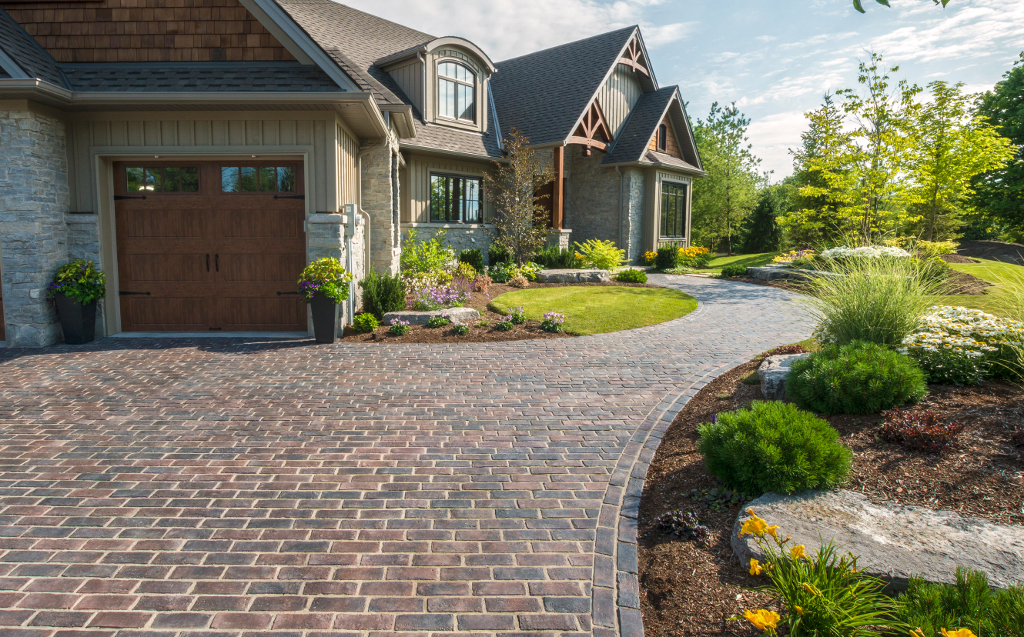 A perfect match heated driveways featuring unilock concrete pavers a heated driveway system can be the perfect solution for ice and snow pileup prevention these systems form a heat radiating mesh beneath the driveway solutioingenieria Gallery