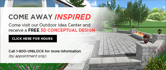 Come visit our Outdoor Idea Center