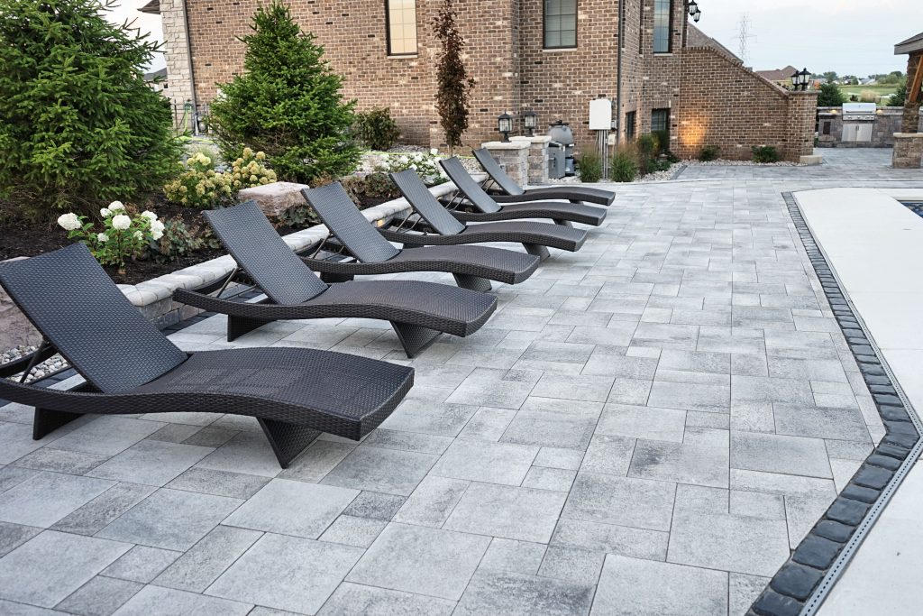 Midwest Landscape Specialists Inc. of St. John, IN, Wow with Extensive Hardscape Project