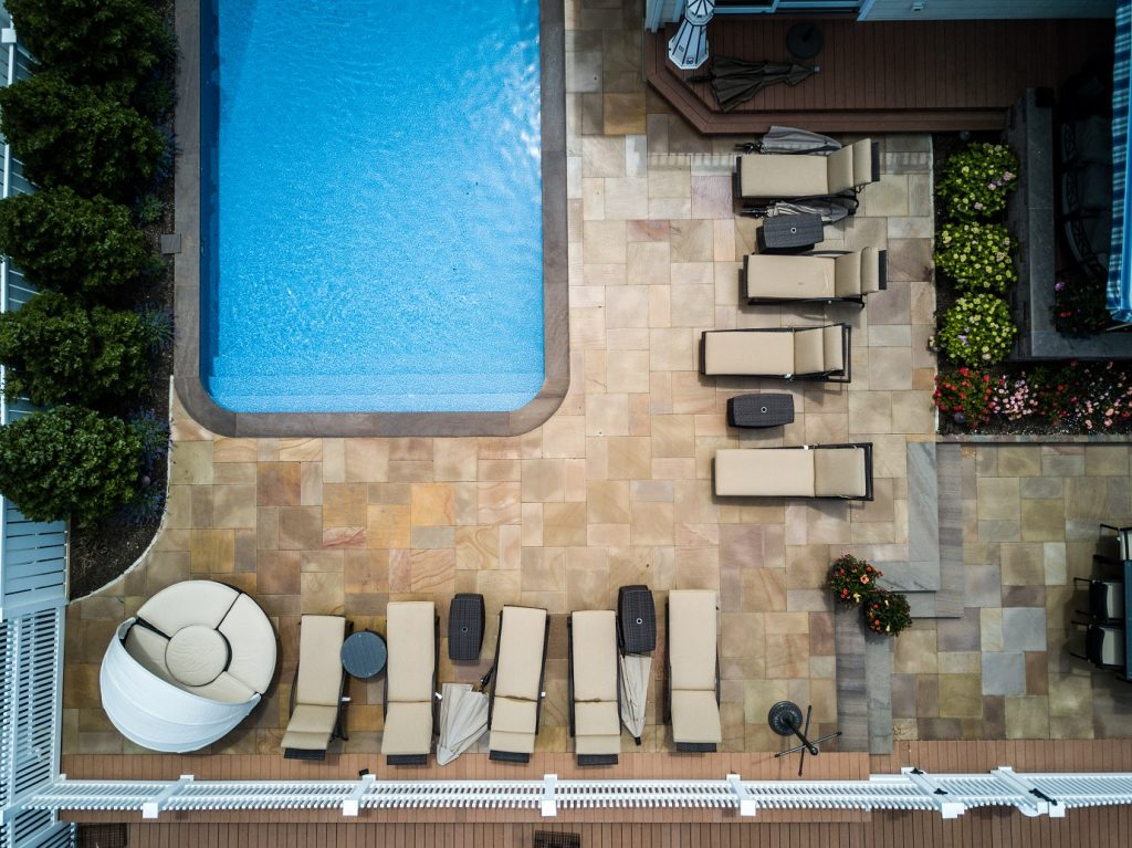 LanDesign, Inc. Wows with Oceanfront Natural Stone Patio Installation in Brick Township, NJ