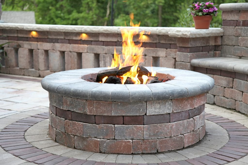 Coping Options for your Dayton, OH Fire Pit Seating Area