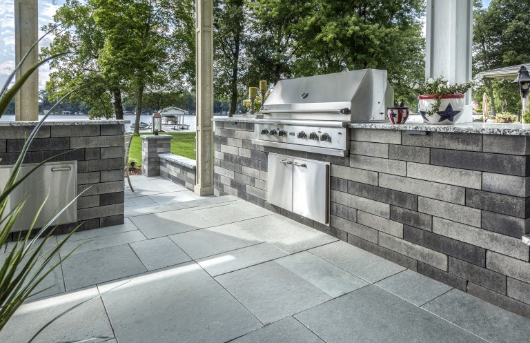 How Unilock Natural Stone can Enhance Outdoor Kitchens in ...