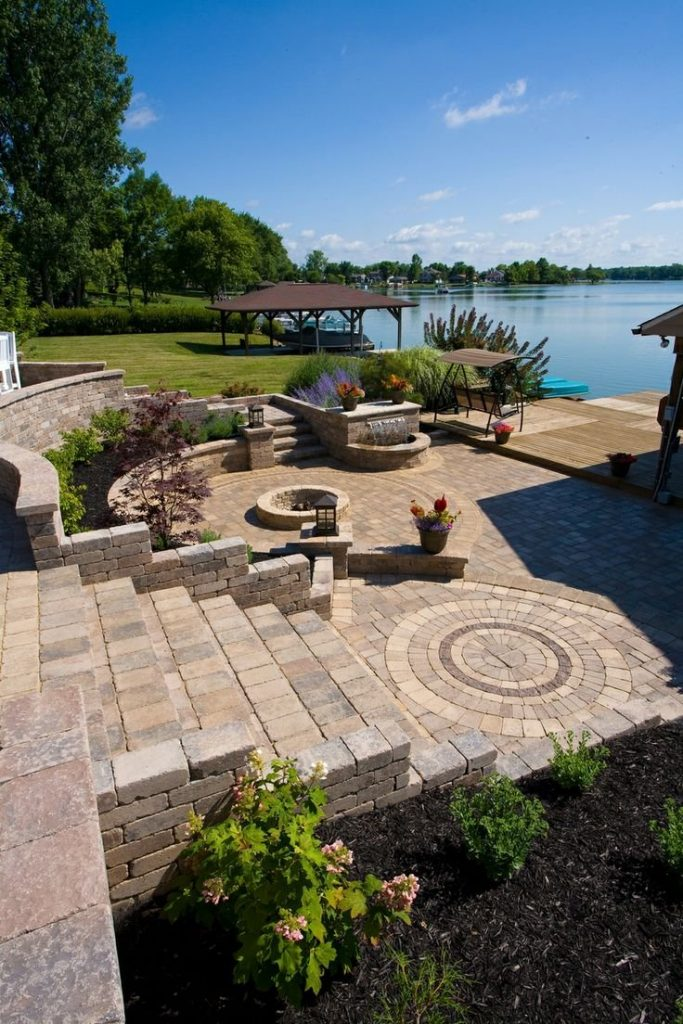 Best Combinations of Retaining Wall Blocks and Pavers for Bold Pittsburgh, PA, Hardscapes