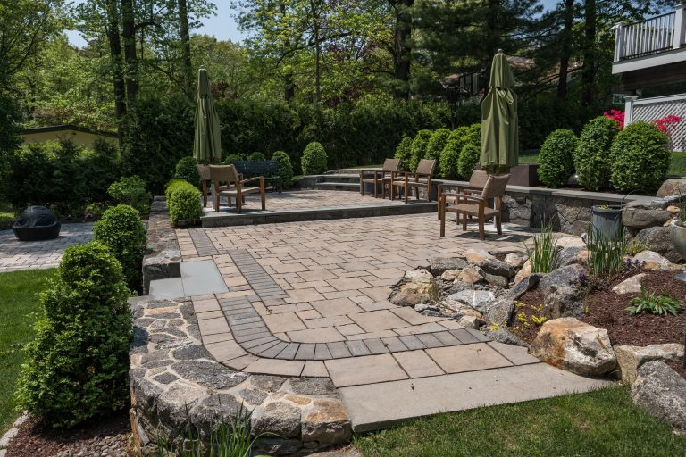 3 Projects That Utilize Rustic Unilock Pavers in Brewster, NY