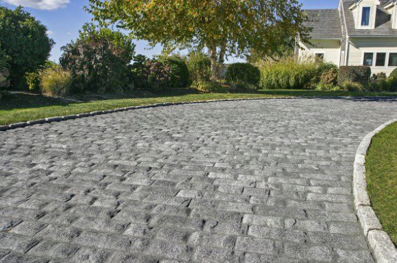 Control Water Flow With These Paving Stones in East Hampton, NY