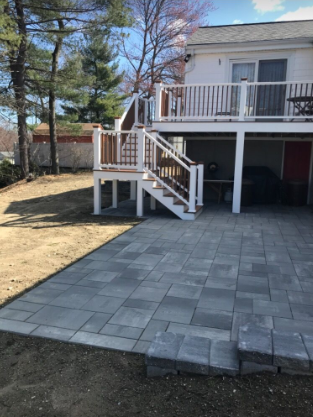 Town Hall vs Copthorne as Walkway Pavers for Your Wading River, NY, Front Walk